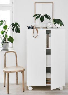 Inspiration for creating modern Scandinavian style workspace