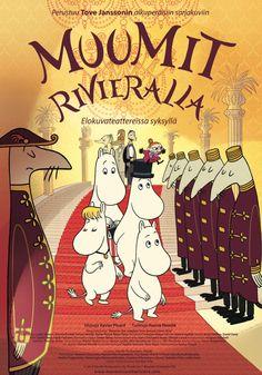 Moomins on the Riviera Les Moomins, Tracy Ann, Santa's Village, Fuzzy Felt, Movie Scripts, Tove Jansson, Watch Cartoons, Desert Island, French Films