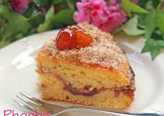 Greek Desserts, Cake Bars, Apple Crisp, Biscuits, French Toast, Muffins, Recipies, Sweets, Sugar