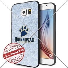 NEW Quinnipiac Bobcats Logo NCAA #1476 Samsung Galaxy S6 Black Case Smartphone Case Cover Collector TPU Rubber original by WADE CASE [Ice] WADE CASE http://www.amazon.com/dp/B017KVNACG/ref=cm_sw_r_pi_dp_OYjywb1REKXWV