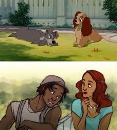 Como seria a versão humana dos personagens animais da Disney? O artista dono do tumblr decidiu transformar alguns personagens animais e...