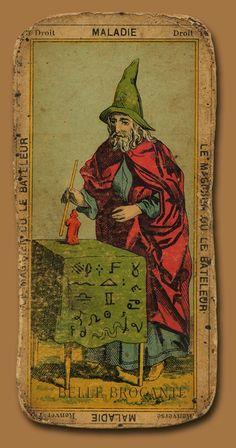 Magician - Etteilla's Tarot Égyptien.