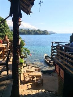Beautiful view of Nkhata Bay, Lake Malawi, Africa!