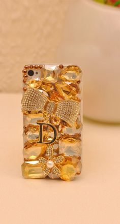 Crystal gold case