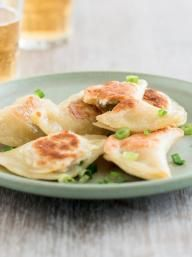 Seared Garlic Chicken Pierogi  | KitchenDaily.com