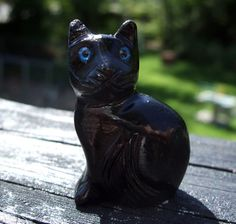 "1.5"" Onyx pocket Black Cat – Cast a Stone"