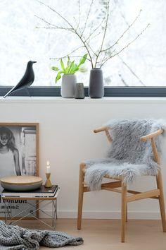 HAY Armlehnstuhl About a Chair AAC 22 (Grau)