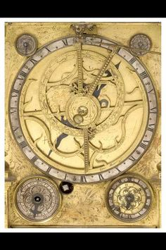 Astrolabe Clock - by Johann Leonhardt Bommel, Nuremberg, c.1686? (Inv. 35592)  Museum of the History of Science