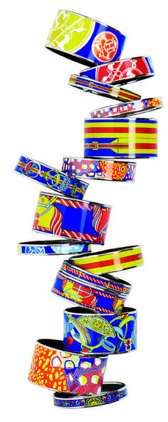 BOX DB16 Prix le plus bas en gros argent massif Fashion Mesh Cuff Bracelet