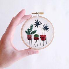Sarah K. Benning: Contemporary Embroidery // London Holiday Fair 2015 #renegadecraftfair