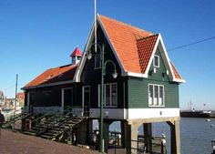De visafslag in Volendam