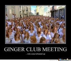 Gingers..... by satan_equals_cookie - Meme Center