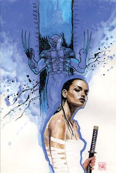 Echo & Wolverine by David Mack
