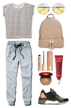 """""""Untitled #69"""" by averyhumeniuk on Polyvore featuring Lee, Abercrombie & Fitch, Y-3, MICHAEL Michael Kors, Eve Lom, Charlotte Tilbury and Clarins"""
