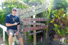 Da Beach Beach Bar on Elbow Cay in the Abaco Islands.