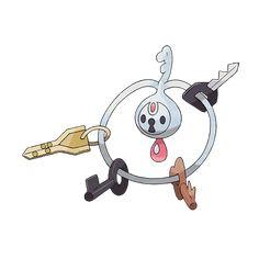 707 Klefki Cleffy Pokemon resimleri Go resimleri karakter