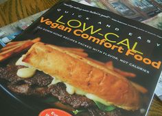 By Alicia C. Simpson    Description from Amazon:    At last, vegan food that packs a heaping helping of comfort without the extra calories! Alicia C. Simpson, the master of vegan comfort food, is back again with food thats crave-worthy and conscience-fri  Just what I need and also try this http://dinnerrecipesfortwo.jstartmembers.com/?p=1
