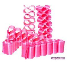 Old Fashioned Thin Ribbon Candy - Pink: 8-Piece Box - $8.00
