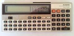 CASIO FX-710P old & vintage pocket computer