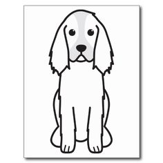 1000 images about sundries on pinterest dog cartoons for English springer spaniel coloring pages