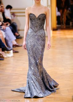 stunning #eveningdress Couture design fashion www.inditforweddings.com