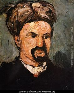 Uncle Dominique In A Turban - Paul Cezanne - www.paul-cezanne.org