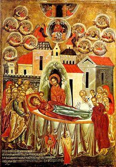 Iconografia Cristã: A Dormição de Maria