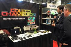 Coleco Chameleon at Toy Fair NY