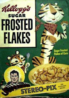 #Kellogg #Cartoon_Package #Vintage_Cereal_Box #Food_package #Kids #package_design #character