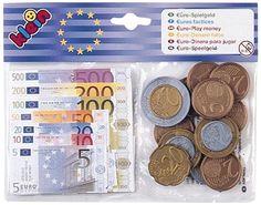 Theo Klein 9612 Eurogeld mit Kopfkarte - Münzen + Scheine