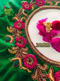 Cutwork Blouse Designs, Kids Blouse Designs, Wedding Saree Blouse Designs, Hand Work Blouse Design, Simple Blouse Designs, Blouse Neck Designs, Kurti Embroidery Design, Embroidery Neck Designs, Embroidery Works
