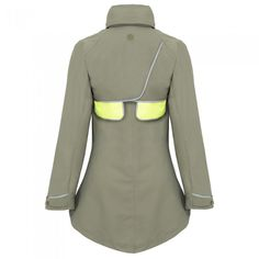 Women's As Bold As Drench Coat (Green) | Velovixen