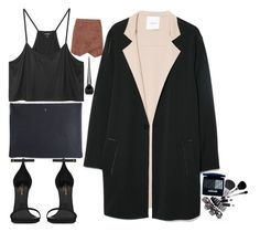 """""""Untitled #4"""" by hollieking ❤ liked on Polyvore featuring BCBGMAXAZRIA, Monki, Arts & Science, Yves Saint Laurent, MANGO and Christian Louboutin"""