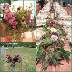 More professional shots from a wedding a few weeks ago! wedding.  #florist #flowers #flowershop #princetagram #nj #princeton #centerpiece #bouquet #wedding #rustic #shabbychic