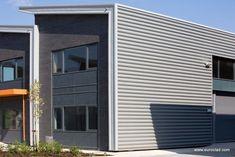 Revestimiento de fachada metal / de chapa / ondulado / de panel Euroclad Ltd