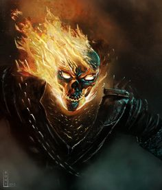 GhostRider by Bohy on deviantART