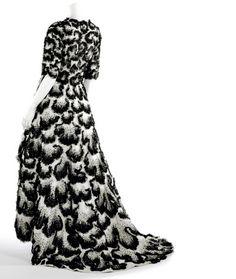 1951 Balenciaga couture ball gown