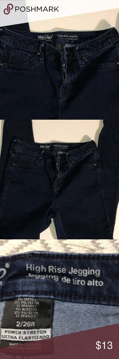 3af0b8279a421 Mossimo High rise jegging denim skinny jeans sz 6 Excellent used condition dark  wash high rise jegging size 6 stretch skinny jeans. cotton polyester  spandex ...