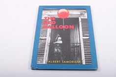 The Red Balloon - Albert Lamorisse - Black and White Photography - Art - Vintage Children's Book by ThePinkRoom
