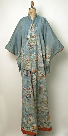 Japanese Silk Kimono - 19th century http://www.metmuseum.org/collections/search-the-collections/80010474?pos=37=20=2=on=kimono