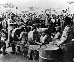 Steel drum bands from yesteryear http://www.steelband.co.uk The only new musical instrument invented within the 20th century  @steelasophical
