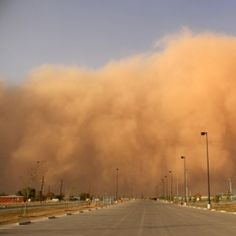 "Haboob - An haboob is ""a thick dust storm or sandstorm that blows in the deserts of North Africa and Arabia or on the plains of India."" Their dust storm cousins also hit the United States—just ask anyone who lives in Phoenix. Lie Detector Test, Weather Words, Dust Storm, Space Photography, Extreme Weather, Word Of The Day, North Africa, Natural Disasters, Night Skies"