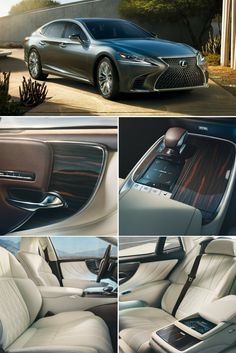Bold design highlighted with luxury details throughout. Art wood, Kiriko hand-carved glass, pleat-folded leather trim and much more. Lexus Sport, Lexus Lx570, Best Car Interior, Car Interior Design, Lexus Models, Body Build, Carrera, Cars And Motorcycles, Military Vehicles