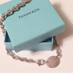 2x Host Pick  Auth Tiffany&Co Oval Necklace Authentic Tiffany&Co Oval Necklace    2x HostPick 12-06-14 Any Questions Please Ask before Purchase No Paypal || No Trades || Posh Rules Only  Shipping:  Bundle and Save on Shipping Items are shipped within 24-48 hours of payment {Mon-Fri.}  Please Check Out my other listings for the best in brand new and gently used clothing, shoes and accessories. Happy Poshing!!! Tiffany & Co. Jewelry Necklaces