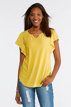 Cato Fashions Pearl Embellished Top #CatoFashions