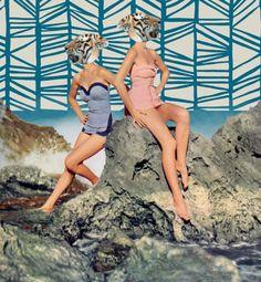 Collage by @Marina Zlochin Zlochin Zlochin Zlochin Molares #animal #collage #vintage #fun