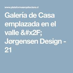 Galería de Casa emplazada en el valle / Jørgensen Design - 21