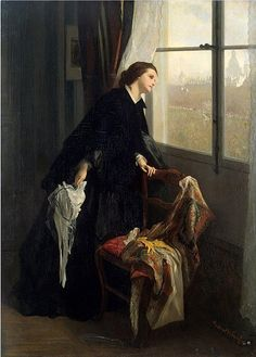 Changeable Weather, by Leonard Campbell Taylor (British, 1874-1969).
