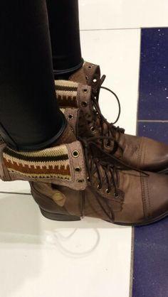 Steve Madden boots...  Love the inside design!