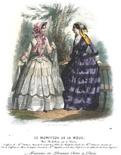 July, 1852 - Le Moniteur de la Mode